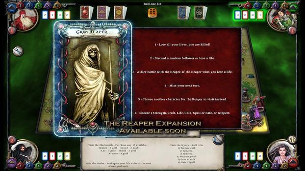 Talisman: Digital Edition on PC screenshot #1