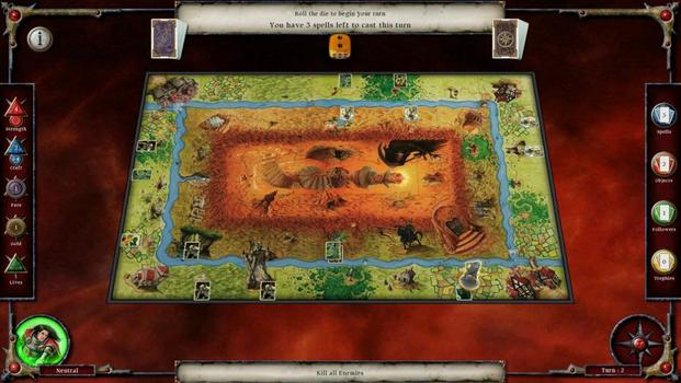 Talisman: Prologue on PC screenshot #4