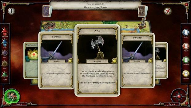 Talisman: Prologue on PC screenshot #2