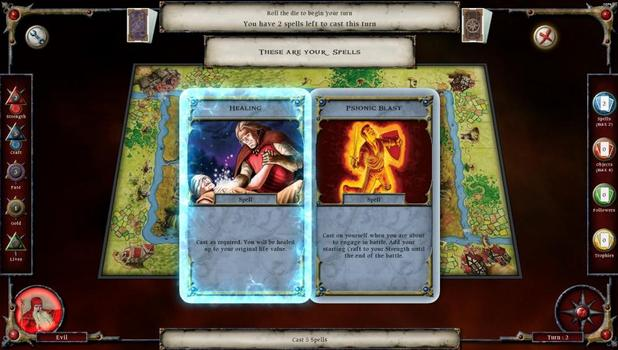 Talisman: Prologue on PC screenshot #1