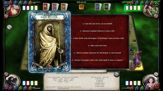 Talisman: The Reaper Expansion Pack on PC screenshot #1