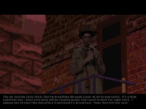 Tex Murphy: Under a Killing Moon on PC screenshot #3