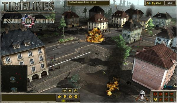 TimeLines: Assault on America on PC screenshot #2