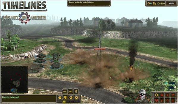 TimeLines: Assault on America on PC screenshot #1