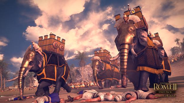 Total War: Rome II - Beasts of War DLC on PC screenshot #2