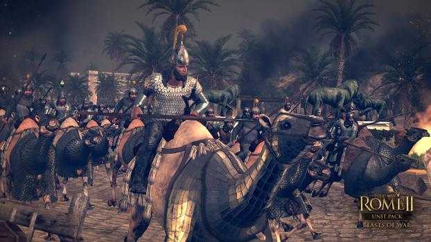 Total War: Rome II - Beasts of War DLC on PC screenshot #1