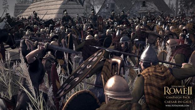 Total War: Rome II - Caesar in Gaul DLC on PC screenshot #5