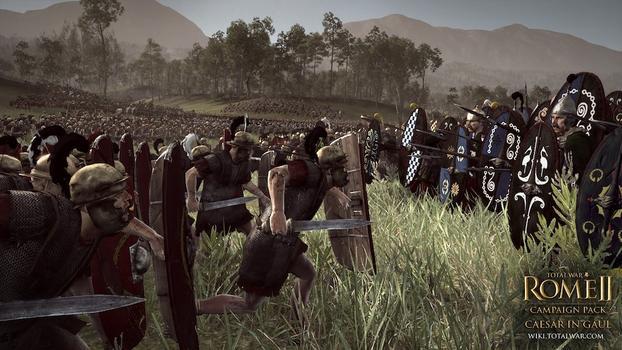 Total War: Rome II - Caesar in Gaul DLC on PC screenshot #4