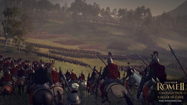 Total War: Rome II - Caesar in Gaul DLC on PC screenshot #2