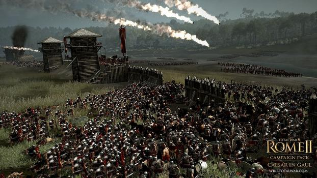 Total War: Rome II - Caesar in Gaul DLC on PC screenshot #1