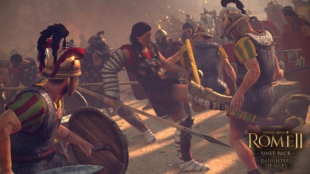 Total War: Rome II - Daughters of Mars DLC on PC screenshot #4