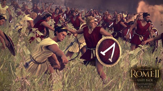 Total War: Rome II - Daughters of Mars DLC on PC screenshot #2