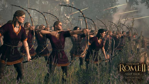 Total War: Rome II - Daughters of Mars DLC on PC screenshot #1
