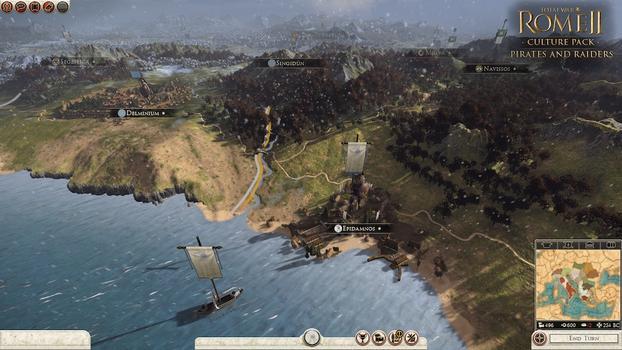 Total War: Rome II - Pirates & Raiders DLC on PC screenshot #6