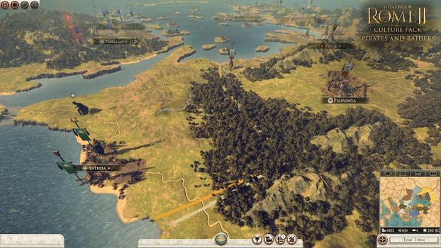 Total War: Rome II - Pirates & Raiders DLC on PC screenshot #5