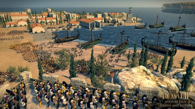 Total War: Rome II - Pirates & Raiders DLC on PC screenshot #3