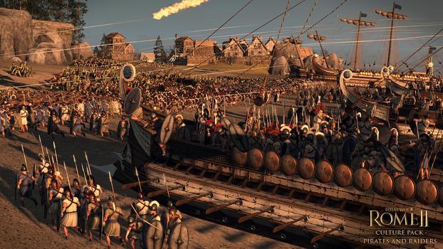 Total War: Rome II - Pirates & Raiders DLC on PC screenshot #1