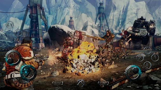 TouchFox Controller for Borderlands 2 on PC screenshot #5