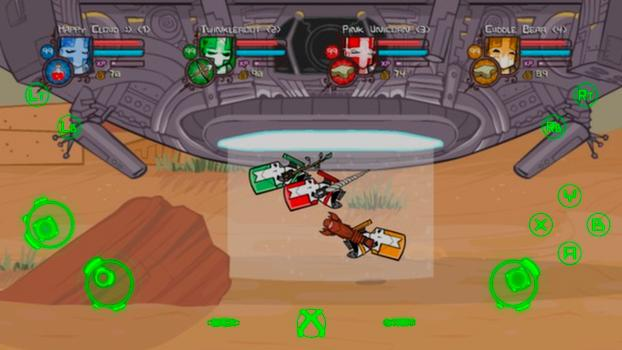 TouchFox Controller for Castle Crashers on PC screenshot #3