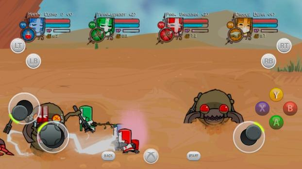 TouchFox Controller for Castle Crashers on PC screenshot #1
