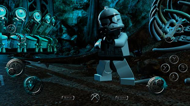 TouchFox Controller for LEGO Star Wars III on PC screenshot #5