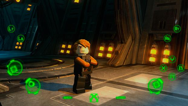TouchFox Controller for LEGO Star Wars III on PC screenshot #3