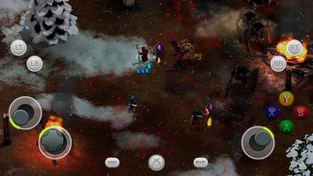 TouchFox Controller for Magicka on PC screenshot #1