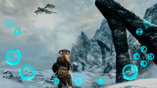 TouchFox Controller for Skyrim on PC screenshot #2