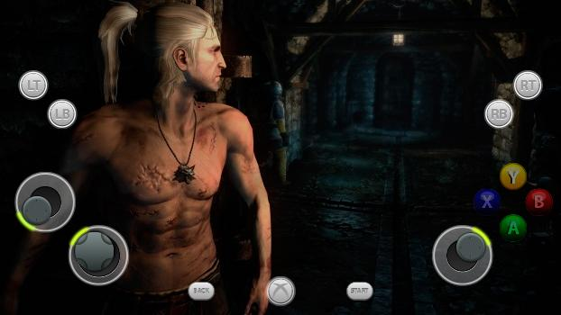 TouchFox Controller for The Witcher 2 on PC screenshot #1