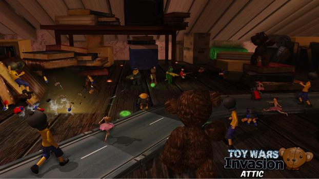 Toy Wars Invasion on PC screenshot #2