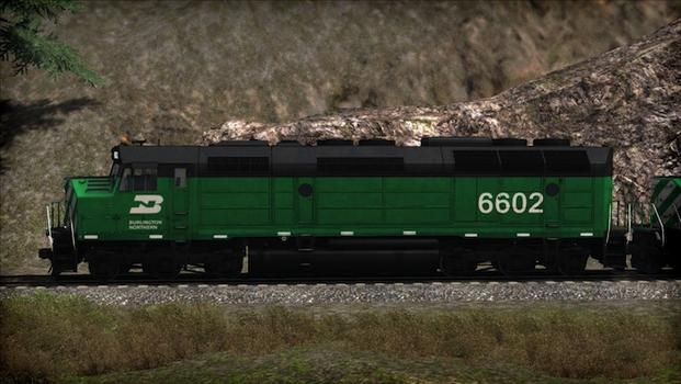 Train Simulator: Burlington Northern F45 Loco Add-On on PC screenshot #6