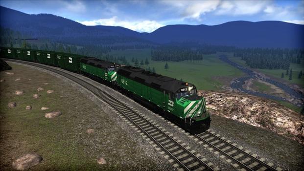 Train Simulator: Burlington Northern F45 Loco Add-On on PC screenshot #4