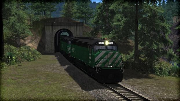 Train Simulator: Burlington Northern F45 Loco Add-On on PC screenshot #3