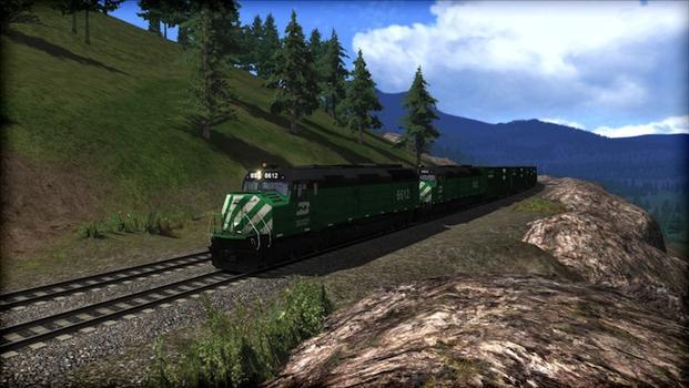 Train Simulator: Burlington Northern F45 Loco Add-On on PC screenshot #1