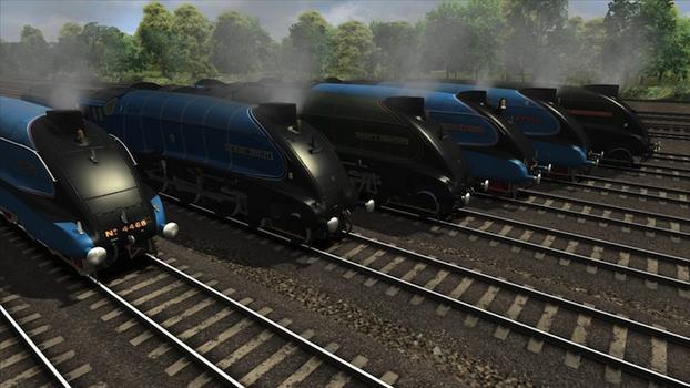 Train Simulator: Class A4 Pacifics loco add-on on PC screenshot #7