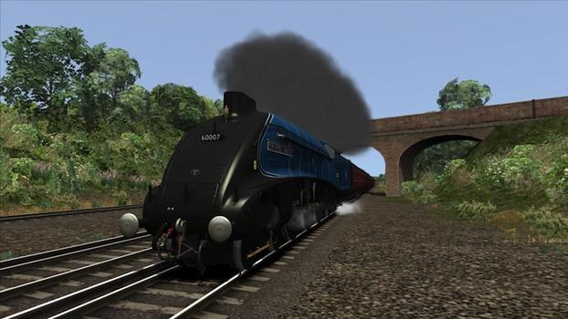 Train Simulator: Class A4 Pacifics loco add-on on PC screenshot #1