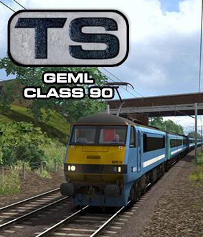 Train Simulator: GEML Class 90 loco add-on