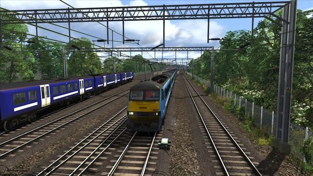 Train Simulator: GEML Class 90 loco add-on on PC screenshot #6