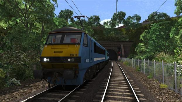 Train Simulator: GEML Class 90 loco add-on on PC screenshot #4