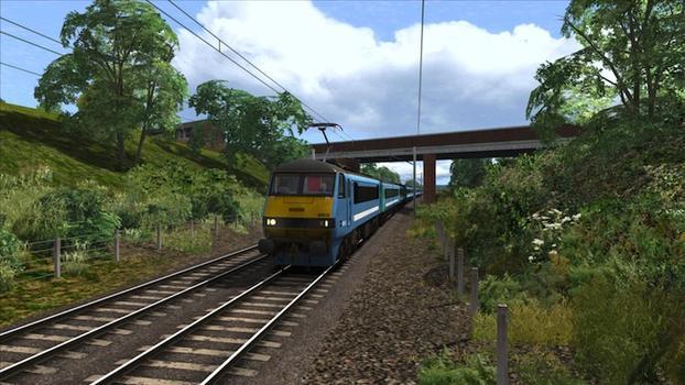 Train Simulator: GEML Class 90 loco add-on on PC screenshot #2