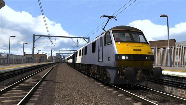 Train Simulator: GEML Class 90 loco add-on on PC screenshot #1