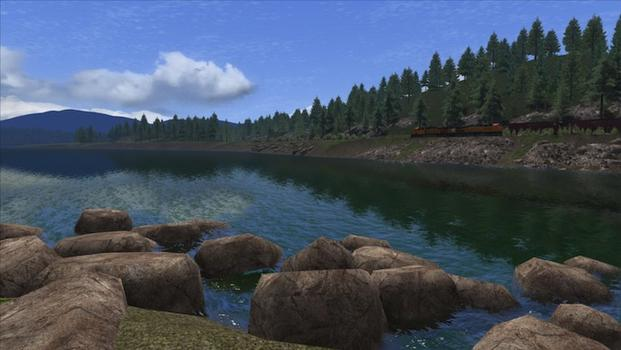 Train Simulator: Marias Pass route add-on on PC screenshot #6