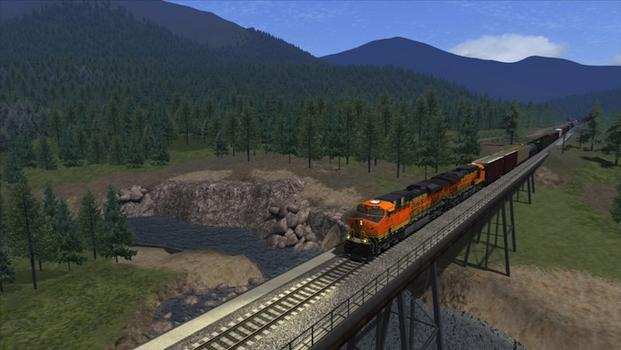 Train Simulator: Marias Pass route add-on on PC screenshot #3
