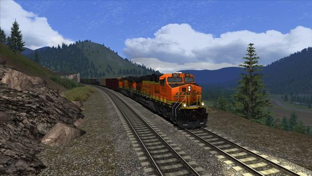 Train Simulator: Marias Pass route add-on on PC screenshot #2