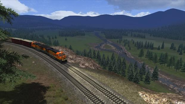 Train Simulator: Marias Pass route add-on on PC screenshot #1