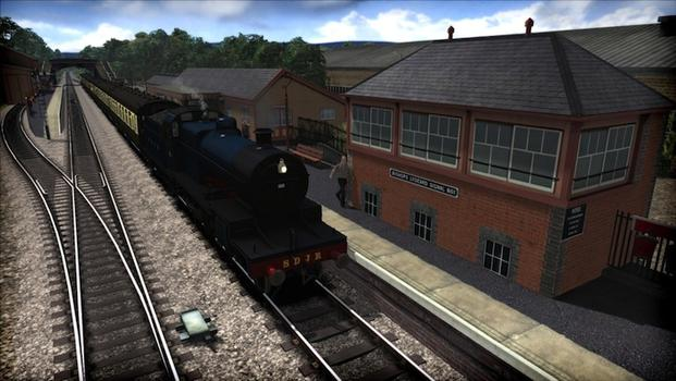 Train Simulator: West Somerset Railway route add-on on PC screenshot #1