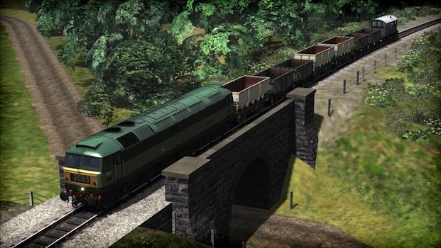 Train Simulator: WSR Diesels Loco Add-On on PC screenshot #2