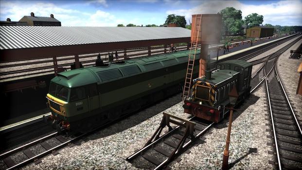 Train Simulator: WSR Diesels Loco Add-On on PC screenshot #1