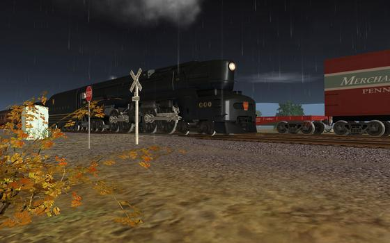 Trainz DLC PRR T1 A Fleet of Modernism on PC screenshot #5