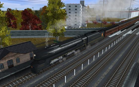 Trainz DLC PRR T1 A Fleet of Modernism on PC screenshot #4